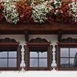 Stock Photo: Alpbach windows, Tirol, Austria