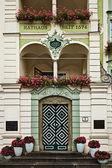 Hôtel de ville renaissance, gmunden, autriche — Photo