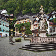 Stock Photo: Marktplatz square, Hallstatt, Austria