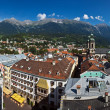 Innsbruck city center — Stock Photo