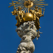 Plague Column, Linz, Austria — Stock Photo