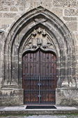 Church door, Salzburg, Austria — Stock Photo