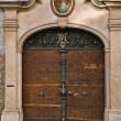 Church door, Salzburg, Austria - Stock Photo