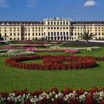 Schonbrunn Palace gardens, Vienna — Stock Photo