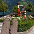 Fountain Austria, Zell am See — Stock Photo