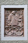 Decorative emblem — Stock Photo