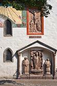 Hohensalzburg fortress yard, Salzburg — Stock Photo