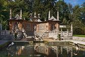 Fontes do Palácio de Hellbrunn, Salzburgo — Fotografia Stock