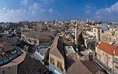 Blick über die altstadt von jerusalem — Stockfoto