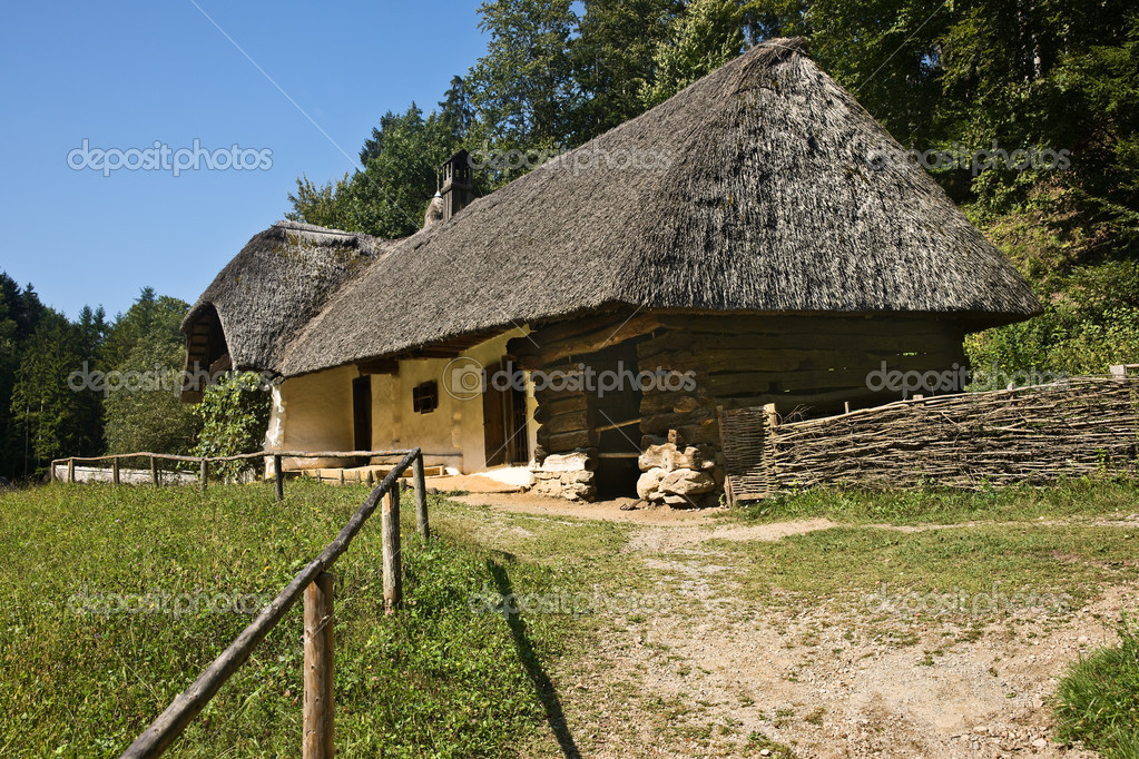 Historical Austrian residential house, Stubing, Styria, Austria — Stock Photo #2801034