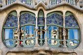 Casa Batllo bay window, Barcelona — Foto de Stock