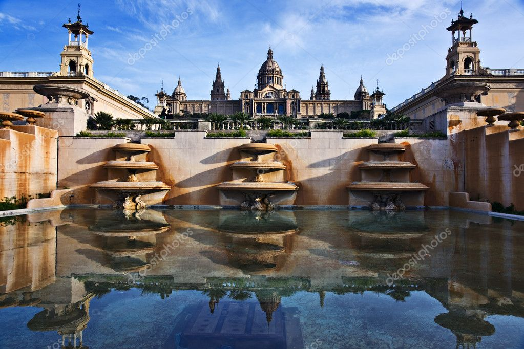 Palau Nacional, Barcelona, Catalonia, Spain  Stock Photo #3016257