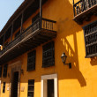Street of Cartagena de Indias, Colombia - Stock Photo