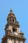 Tower Cathedral Santiago de Compostela — Stock Photo