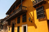 Street of Cartagena de Indias, Colombia — Stock Photo