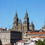 Panoramic, Santiago de Compostela, Spain — Stock Photo #2928684