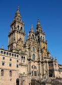 Cathedral Santiago de Compostela, Spain — Stock Photo