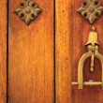 Metal knocker — Stock Photo