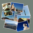 Postcards from Barcelona, Spain - Foto Stock