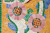 Floral mosaic — Stock Photo