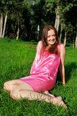 Güzel bir kız — Stok fotoğraf
