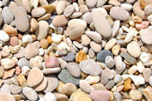BEACH PEBBLES BACKGROUND — Stock Photo