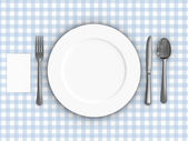 Tablecloth — Stock Photo