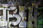 Partial Graffiti — Stock Photo