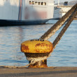 Stock Photo: Mooring