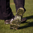 Stock Photo: Close-up of Golfer's Shoe