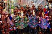 Thai puppets — Stock Photo