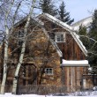 Stock Photo: Aspen home4