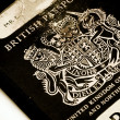 Stock Photo: Old passport