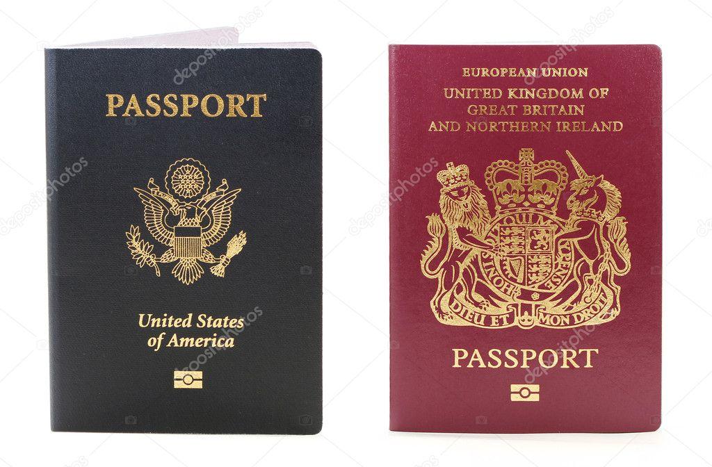 Passaporto Biometrico Italiano un Usa Passaporto Biometrico Due ed Altri Britannici Foto di Davincidig