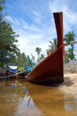 Long tail boats Phuket — Stock Photo