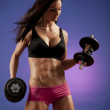 Fitness Woman — Stock Photo #3468740