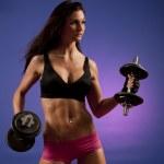 Female Bodybuilder — Stock Photo