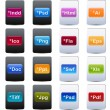 Document and File Type Icons - Stockvektor