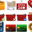 Shoping icon part 2 — Vector de stock
