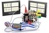 Polygraph ( lie detector) comic concept — Stock Photo