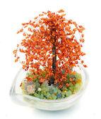 Träd av bonsaj från pärlor — Stockfoto