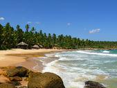 Beach and stones — Stock Photo