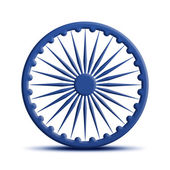 Ashoka Chakra — Stock Photo