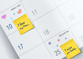 May month calendar — Stock Photo
