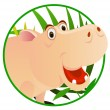 Cute Hippo — Stock Vector #3082698