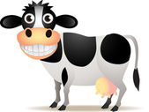 Funny cow — Vecteur