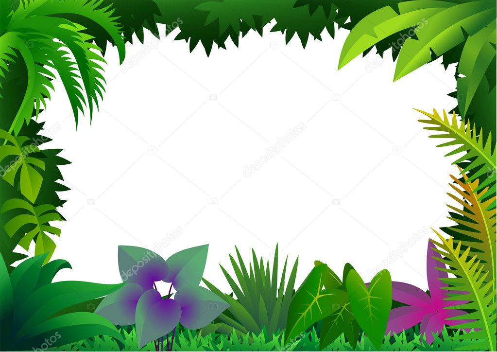 Vector forest — Stock Vector #3082655