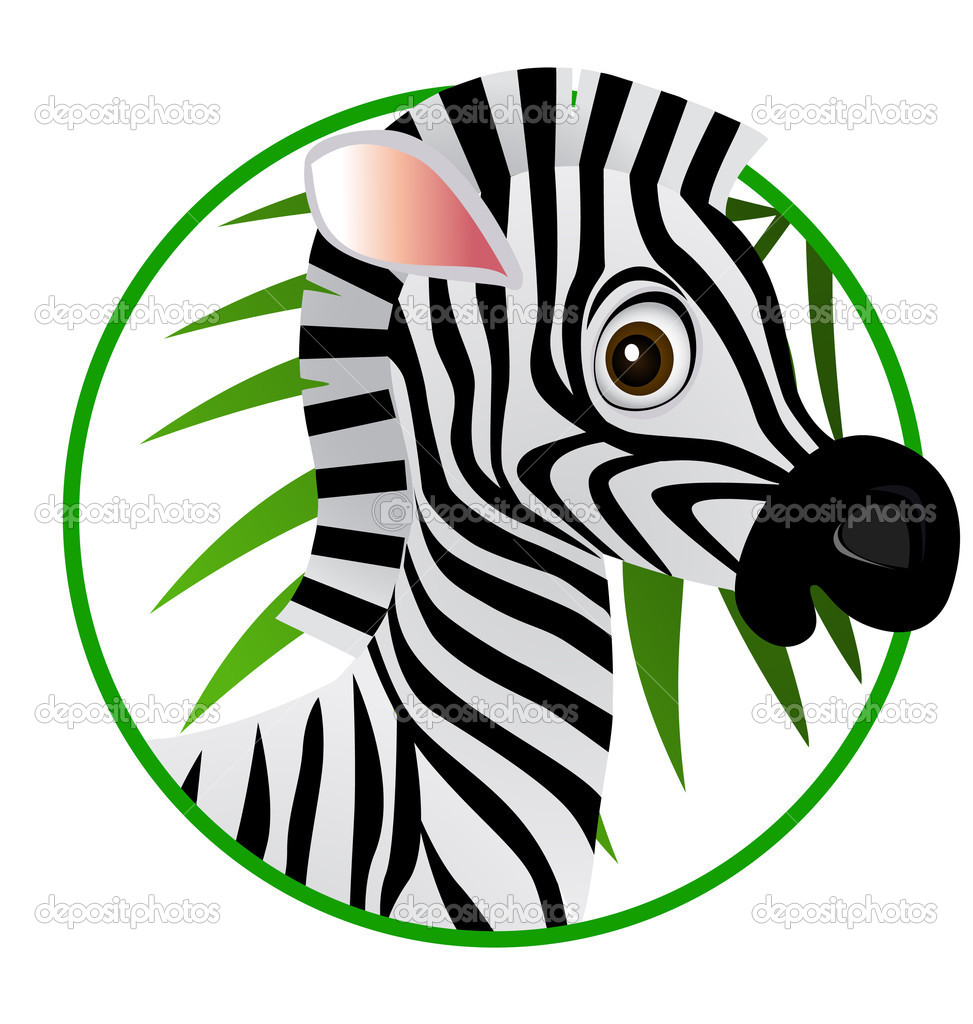 Zebra face cartoon - photo#14