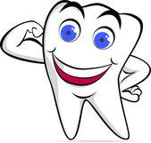 Dent saine — Vecteur