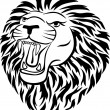 Lion tattoo - Stock Vector